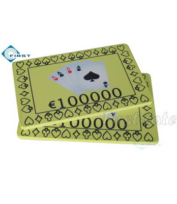 4 Aces Ceramic Poker Plaque