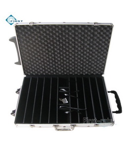 1000 Aluminum Poker Chip Trolley Case