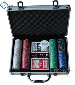 200 Chips Set in Alminum Case