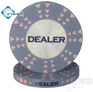 2 inch Ceramic Poker Chip Dealers