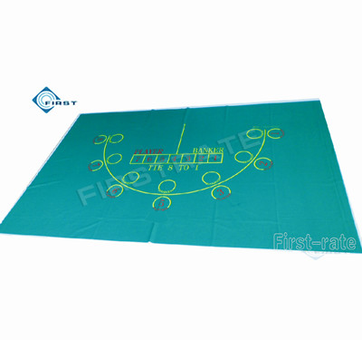 7 Player Poker Table Felt Baccarat Layout
