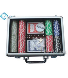 200 Poker Chips Set with Clear Top