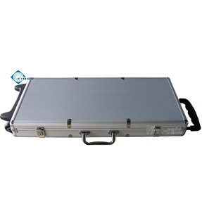750 Trolley Poker Set Aluminum Case