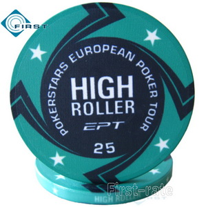Ceramic Chips High Roller EPT Pokerstars