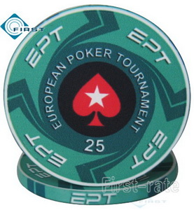 Ceramic Pokerstars EPT Poker Chips
