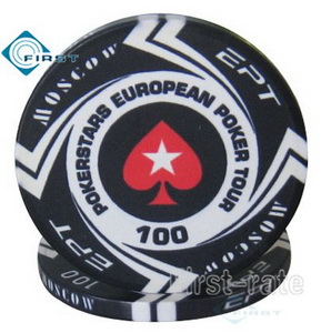 Ceramic EPT Poker Chips