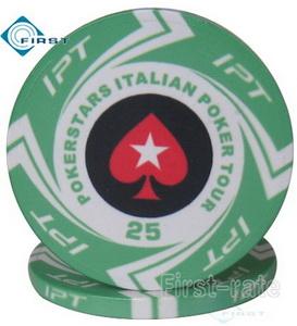 IPT Poker Chips Intalian Poker Tour