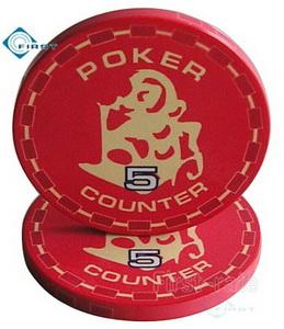 Personalized Ceramic Poker Gifts Monkey Style