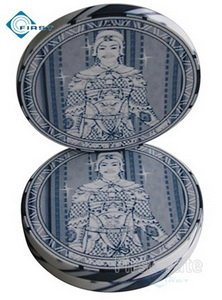 Ceramic Poker Chips Buddha Style