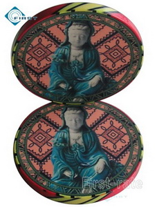Customize Ceramic Poker Chips Buddha Toys