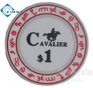 Ceramic Poker Chips Customize Cavalier Style