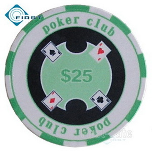 Ceramic Poker Chips With Numbers