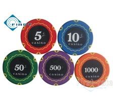 Ceramic Poker Chips EU Value