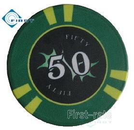 Casino Ceramic Poker Chips