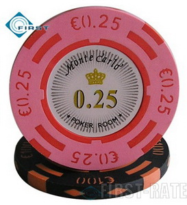 2-Tone Monte Carlo Clay Poker Chips