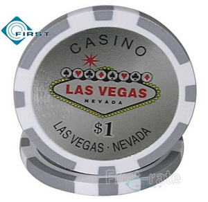 Las Vegas Sticker Poker Chips
