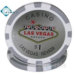 Las Vegas Sticker Poker Chips