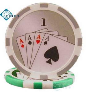 Royal Flush Poker Chips