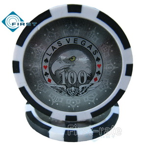 Clay Poker Chips Eagle Style