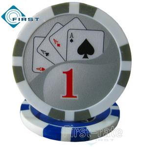 Yin Yang Clay Poker Chips