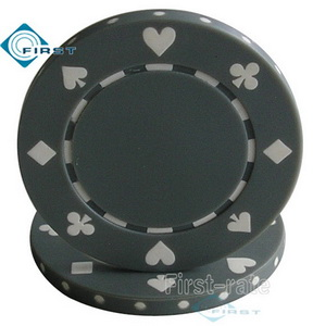 Suited Poker Chips Grey