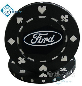 Printed Suited Poker Chips