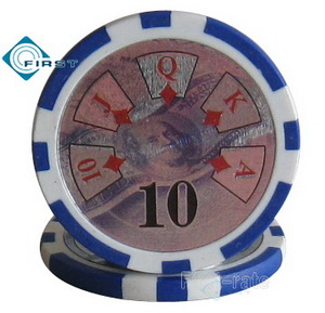 High Roller Ben Franklin Poker Chips