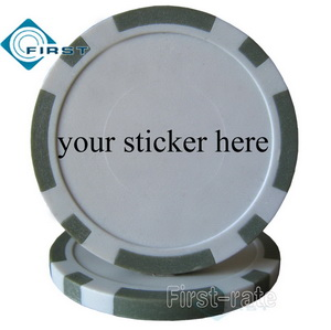 Plastic Poker Chips Blank