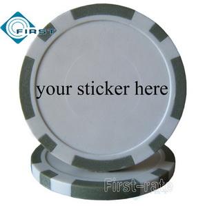 Plastic Poker Chips Blank