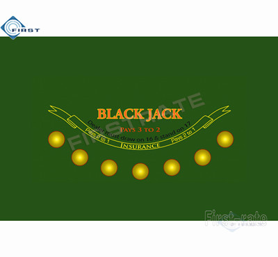 Casino Blackjack Poker Layout