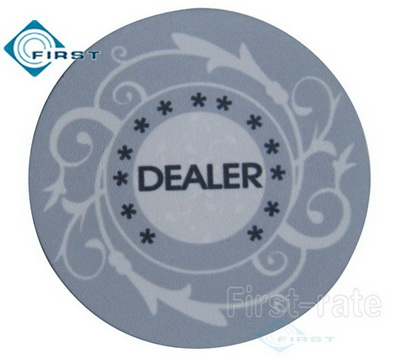 Casino Poker Dealer Buttons