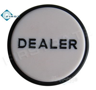 Casino Poker Dealer Puck