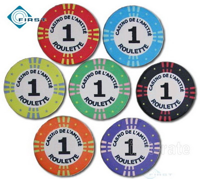 Casino Roulette Poker Chips