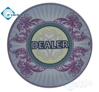 Casino Royale Dealer Button
