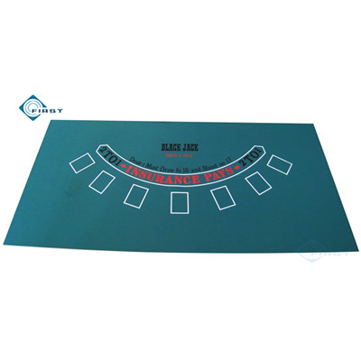 Casino Style Blackjack Table Cloth