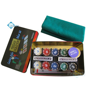 Casino Style Texas Hold\'em Poker Set
