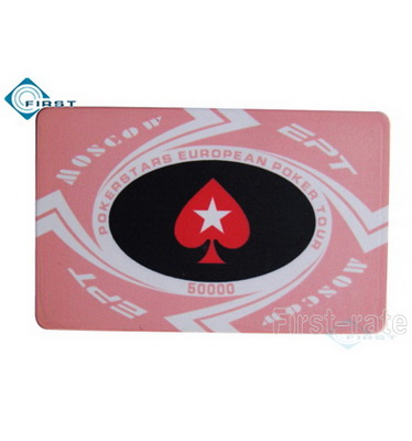 Ceramic EPT Poker Plaque