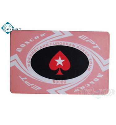 Ceramic EPT Poker Plaque