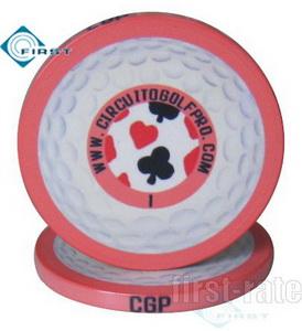 Ceramic Poker Chips Golf Gift