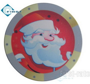 Christmas Dealer Buttons