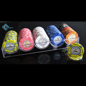 Clear Acrylic Poker Chip Rack without Tops