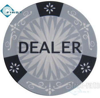 Custom 2 inch Ceramic Dealer Button
