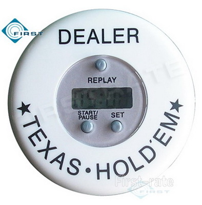 Digital Poker Timer Dealer Button