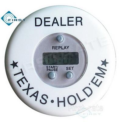 Digital Poker Timer Dealer Button
