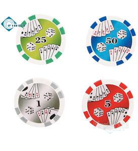 Double Royal Flush Poker Chips
