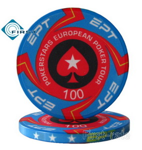 Ceramic Poker Chips EPT