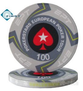 Ceramic Casino EPT Poker Chips
