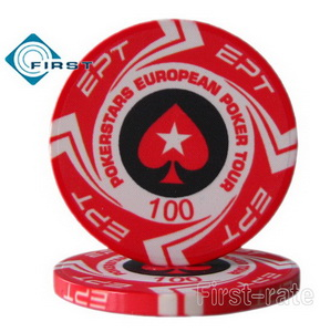 Custom Ceramic EPT Poker Chips PokerStars