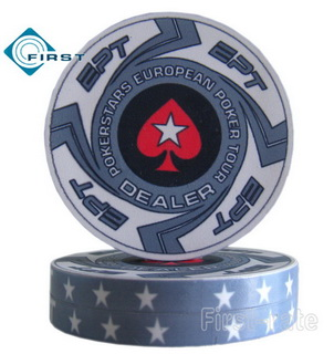 Pokerstars EPT Poker Dealer Buttons