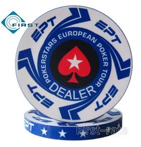 EPT Poker Dealer Buttons Pokerstars European Poker Tour
